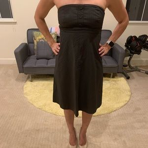 Gap Strapless Dress - size 4